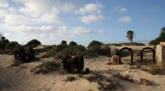 Wüstenrodeln und die Ziegelei von Boa Vista