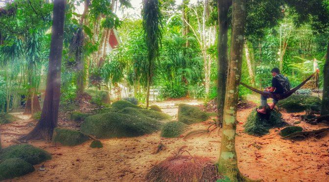 Mae Nam und der Hin Lat Waterfall