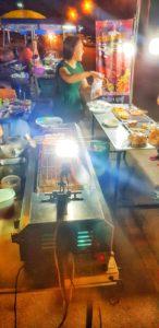 Garküchen in Pak Nam